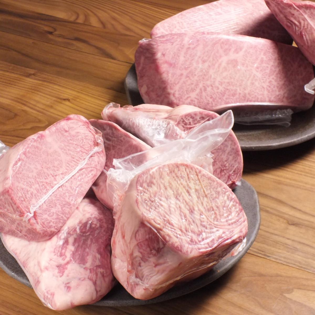 お肉へのこだわり、雌牛へのこだわり
