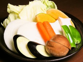 季節の彩り野菜焼き