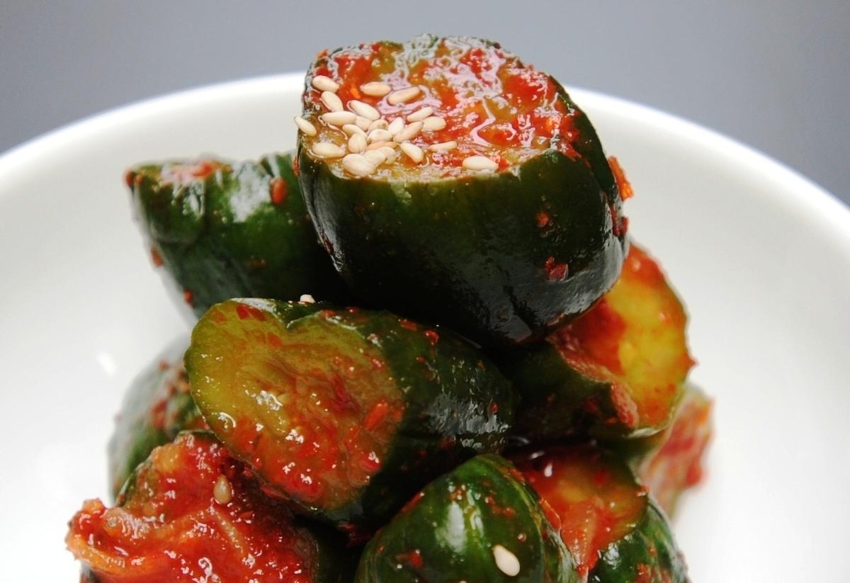大白菜泡菜·kakutiki·黄瓜kimuchi