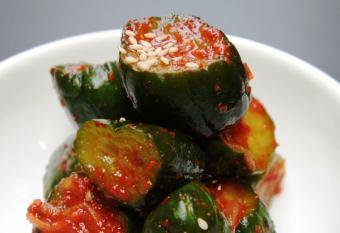 中国的白菜泡菜,Kakuteki,黄瓜泡菜