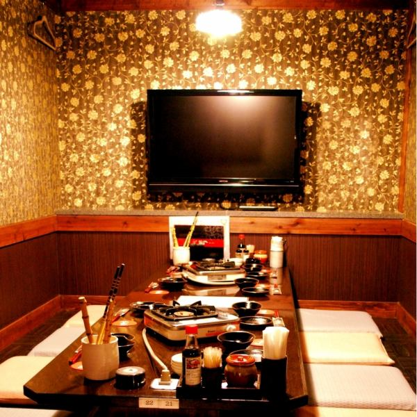 Ideal for watching sports etc. It is a private room with a TV that can be used up to 10 people.
