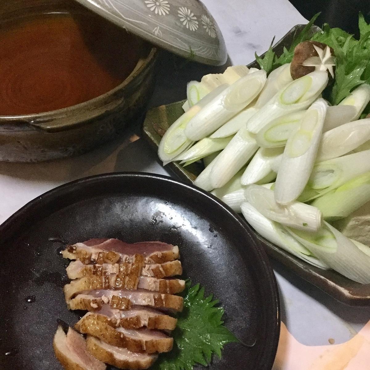 ◆要予約◆鴨鍋