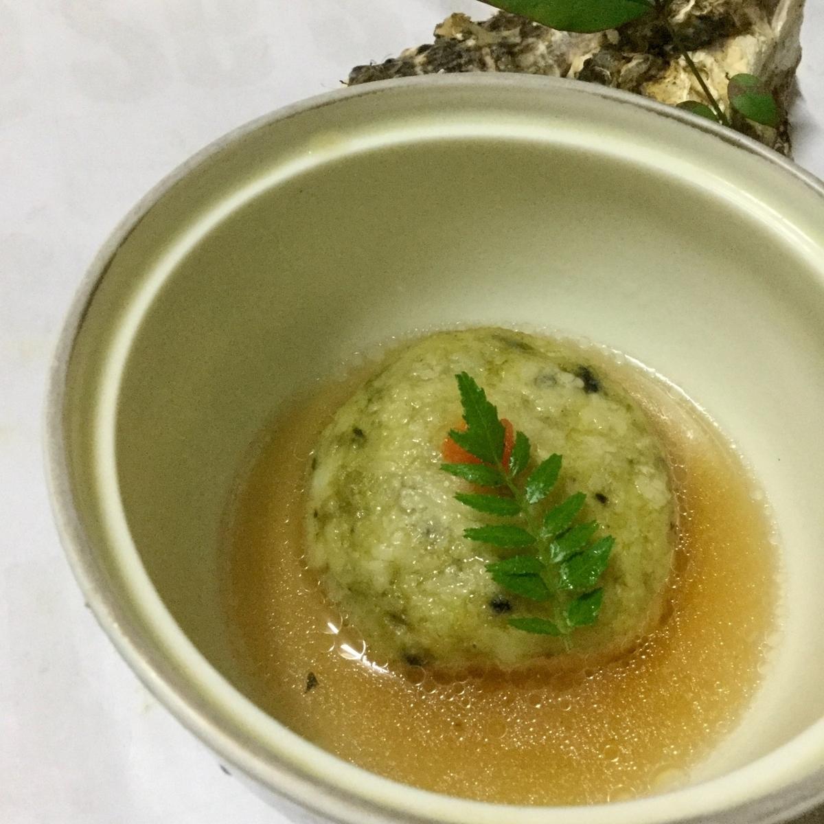 牡蠣の真薯