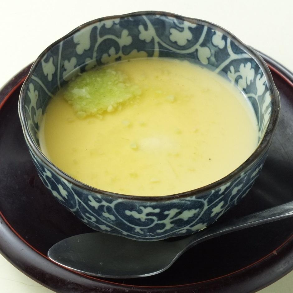 Savory egg custard