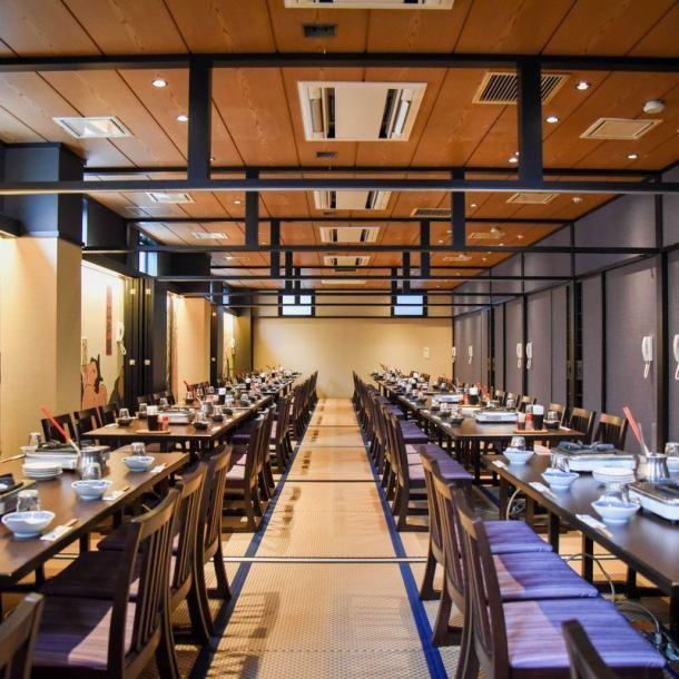 您可以在Sumo摔跤等壽司式的房間享受宴會!推薦歡迎派對◎