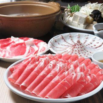 所有你可以吃羊肉+猪+牛涮锅你可以喝所有你可以喝90分钟4180日元→120分钟!