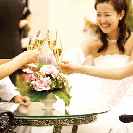 Wedding Second party 【Party course A】 4000 yen