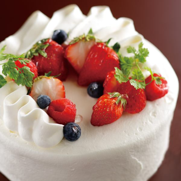 【Rubetta boast】 For birthday and various celebrations !! Gateau phrase.We will also prepare tarts and mousse.