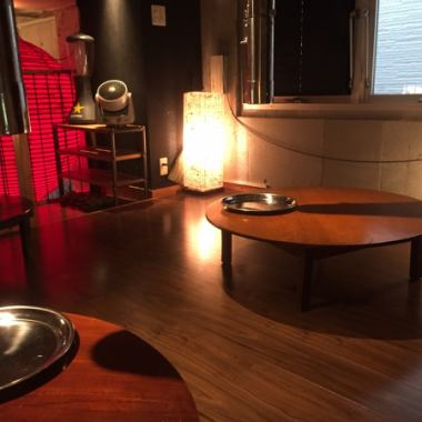 【Excellent atmosphere! VIP Room】 Our VIP room is like an attic.Up to about 10 people OK OK ◎ I spend relaxingly like my house ♪ You may forget your time and drink too much! Noge / Sakuragi-cho / Hinode Municipality / Yakiniku Seafood / Izakaya / Chubu / Banquet / Drink All you can / girls' union / private room