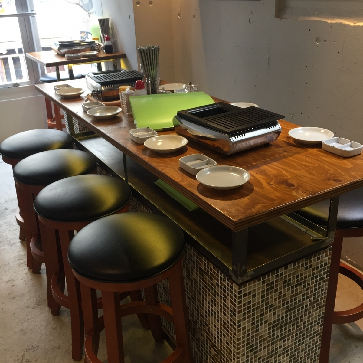 【2F】 8 people High chair table seat