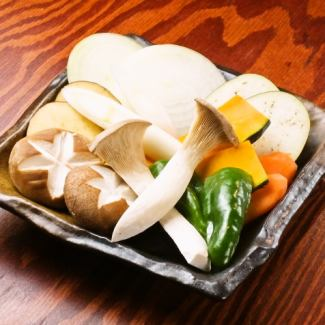 """Vegetable"" Seasonal vegetable platter"