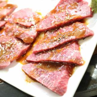 """""""紅肉""""牛肉Calbi"""