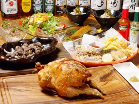 Toei Oedo Line Kachidoki Station 2 mins walking Recommended bird restaurants for various banquets!