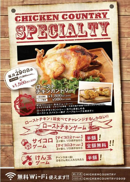 【Roast chicken game ~ Kendama game】