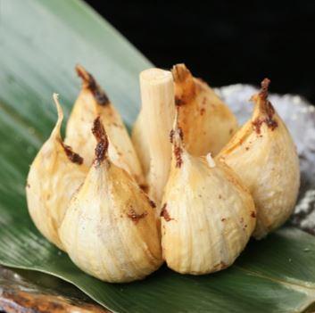 Ebisu garlic dumping