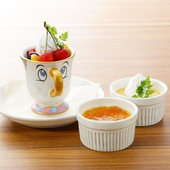 Chips fruit pudding
