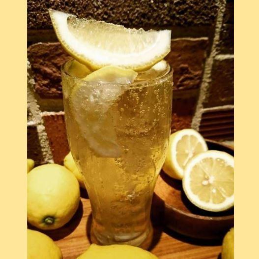 It is perfect for summer! Setoda lemon sour