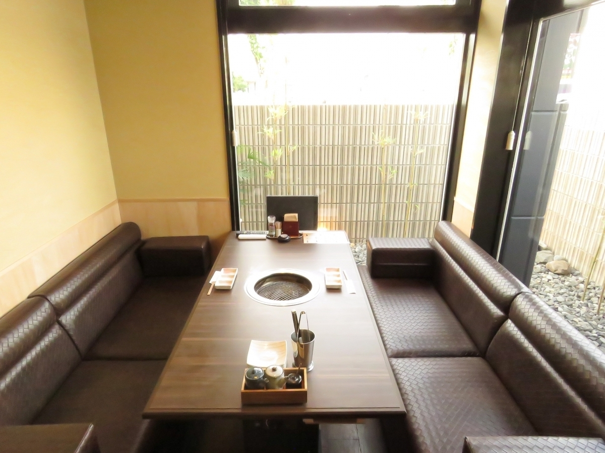 Grill meat in a fine private room