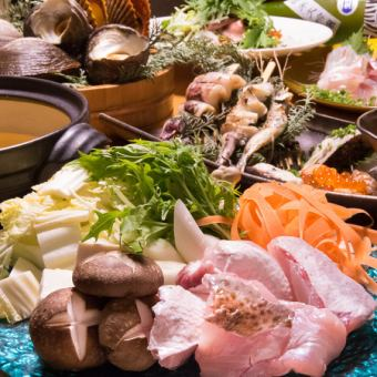 【Seafood hot pot course】 2 hours all you can drink 6000 → 5500 yen