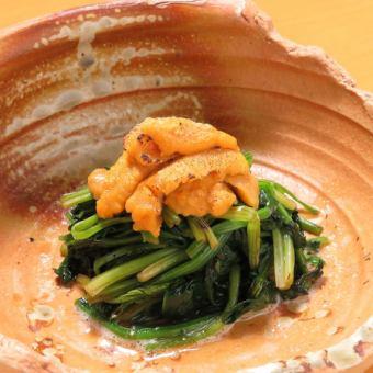 Sea urchin spinach