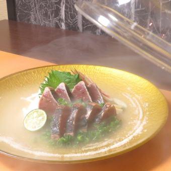 Skipjack Salt Tataki