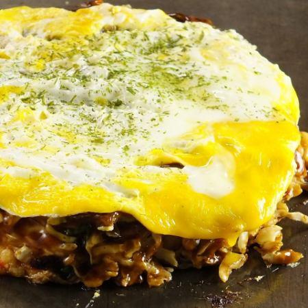 (Sakusaku Okonomiyaki)豬/魷魚