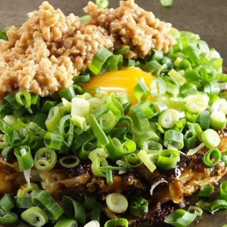 (Sakusaku Okonomiyaki)MIX(豬肉,魷魚,蝦)
