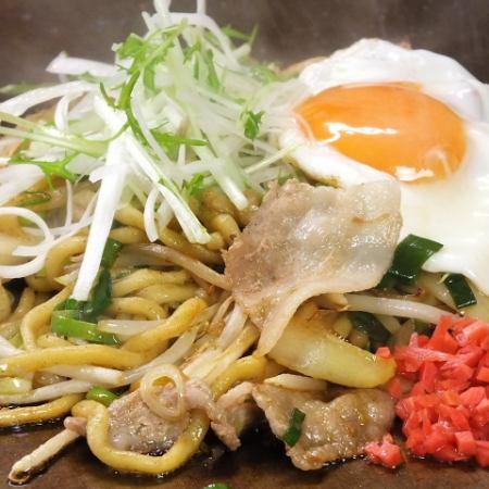 (鹽炒麵)豬/魷魚/蝦/ MIX