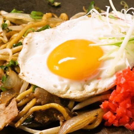 (原創炒麵)醬油炒麵/咖哩炒麵/那不勒斯蕎麥麵