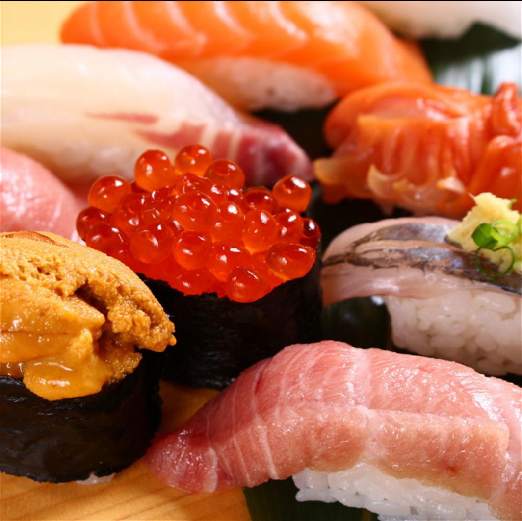 職人が握る絶品寿司