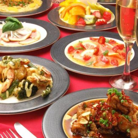 ■Room12 Lunch限定パーティーコースA【1500円】(料理5品)※ドリンクは別途