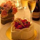 ■[生日]生日蛋糕当然/蒸煮5种菜肴和200种饮用释放与糕点[3000日元](120分钟)