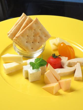 ● of daily cheese platter (five)