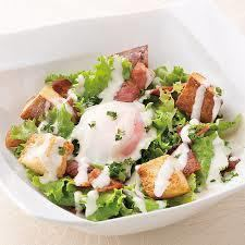 ● Room12 Caesar salad of specially made semi-eggs