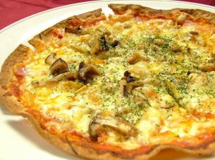 ● Pizza of the forest mushroom