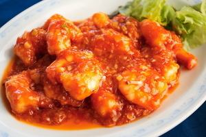 ● shrimp chili sauce