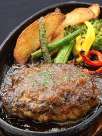 ● hamburger steak Japanese style JAPONE source
