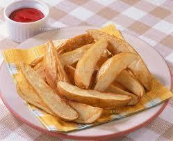 ● thick cut french fries