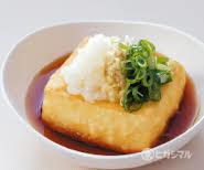● Fried dashi bean wee
