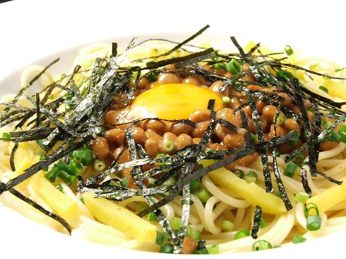 ● Room12 special natto Japanese style pasta