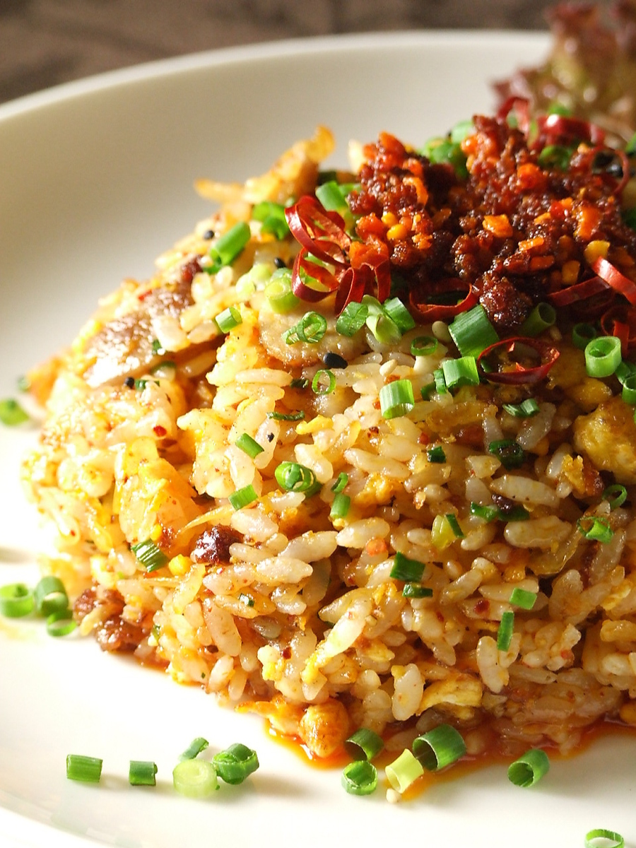 ● Daily changing grilled rice