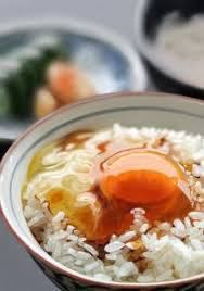 ● TKG ~ egg over rice ~