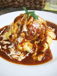 ● Demi-omelet with semi-egg