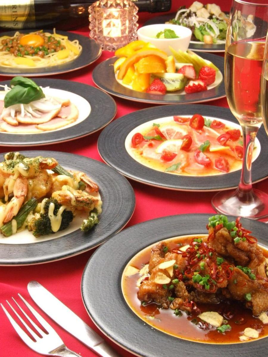 ★ 200 kinds of all-you-can-drink party course dishes from 3000 yen ★