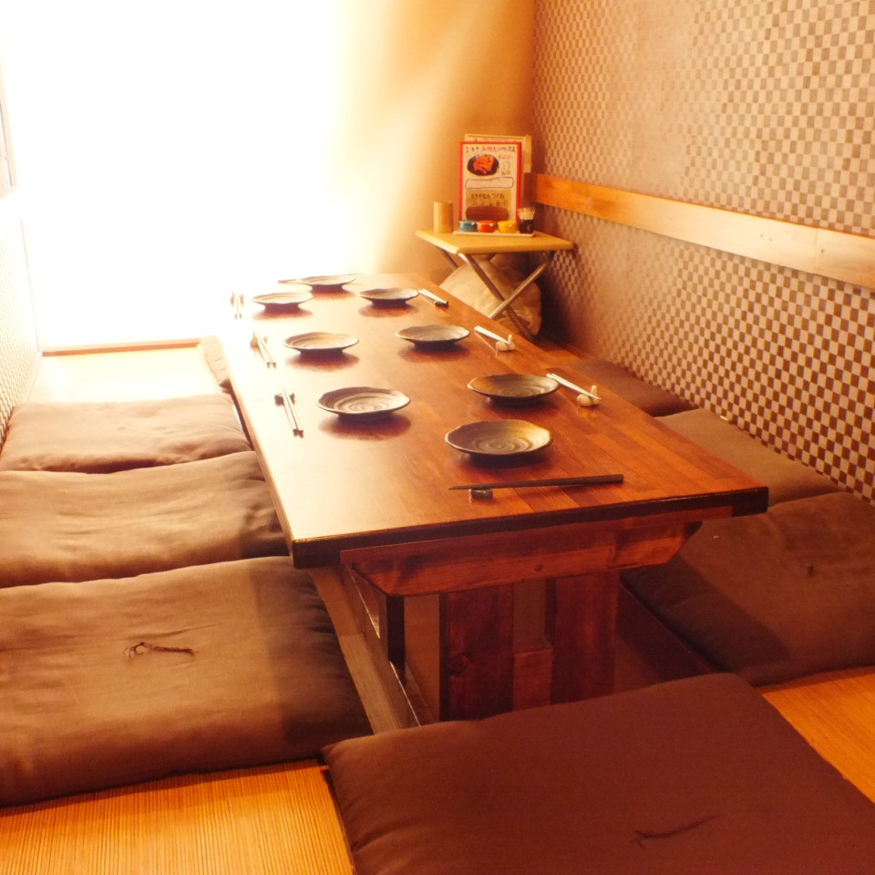 Limited private room of Osaki which you can relax and enjoy.