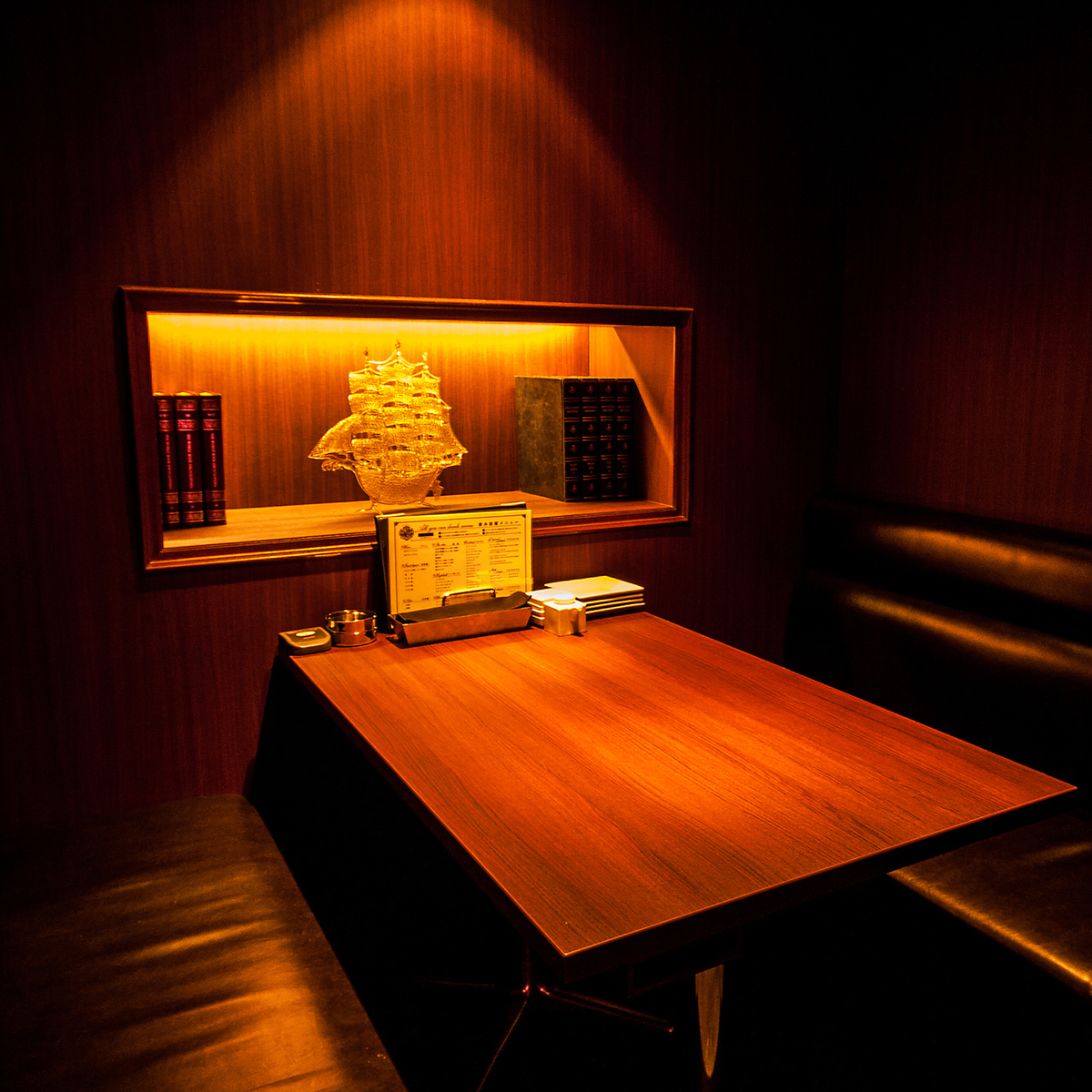 It is ideal for use with table private room / 2 to 4 people who can spend a relaxing time