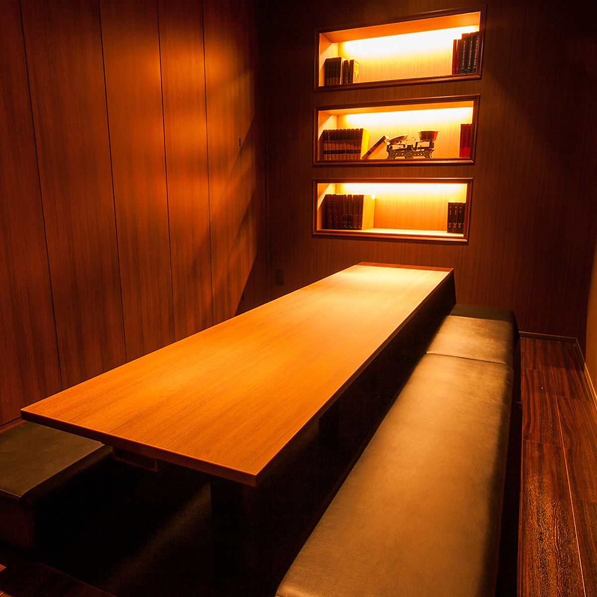 Suitable for use with corporate banquets, digging tatami room that can be used extensively / 6 ~ 10 people