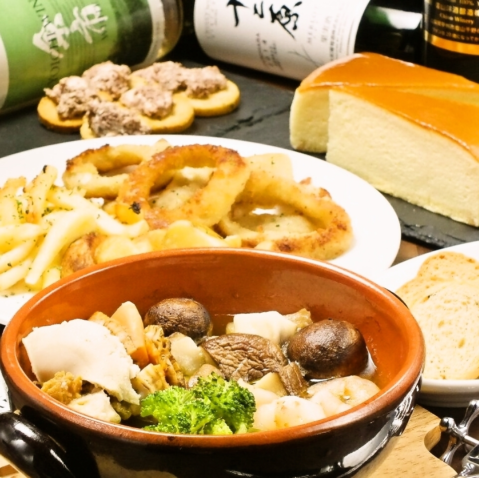 【Complete private room commitment】 Drinking time unlimited! 6 dishes 6,000 yen