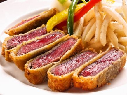 [Luxury meat ye ~ sore] luxury meat Barukosu 7 dishes 7000 yen +2 hours all you can drink for 1500 yen