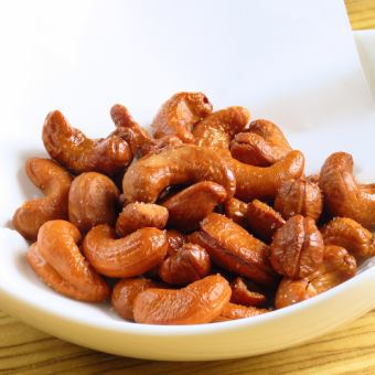 Deep-fried cashew nuts